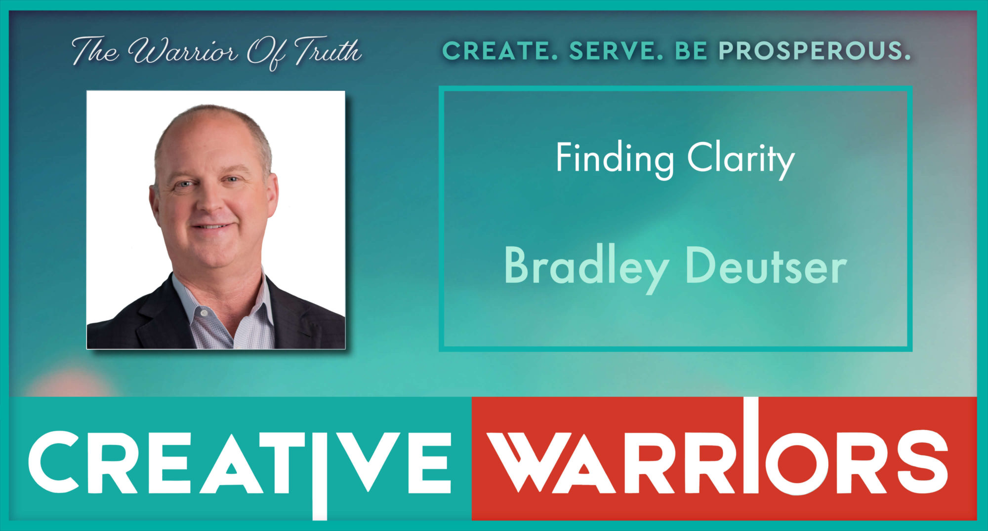 Brad's interview on the Creative Warriors Podcast